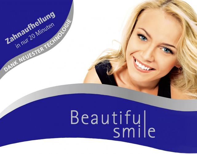 Zahntechnik Zettler bietet Beautiful Smile an.